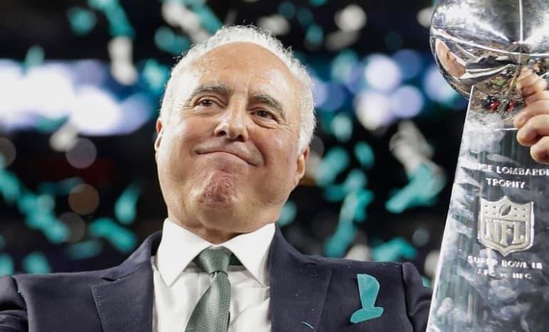 Jeffrey Lurie – Philadelphia Eagles (NFL)