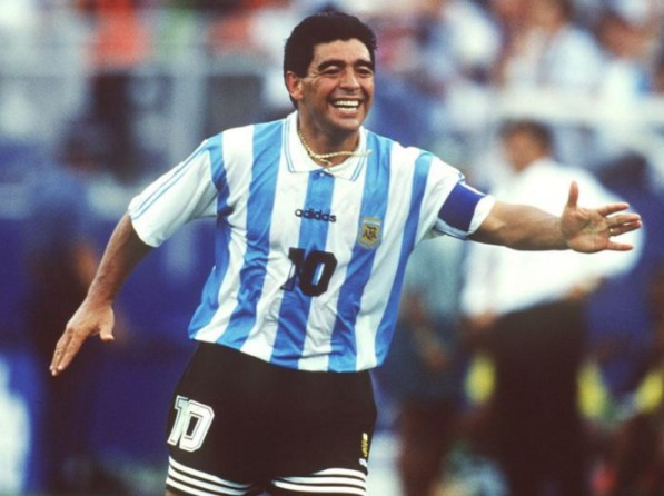 Diego Maradona - 5 feet 5 inches