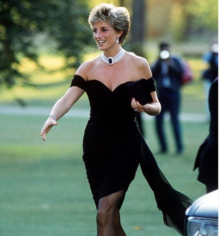 "Princess Diana In The ""Revenge Dress"""