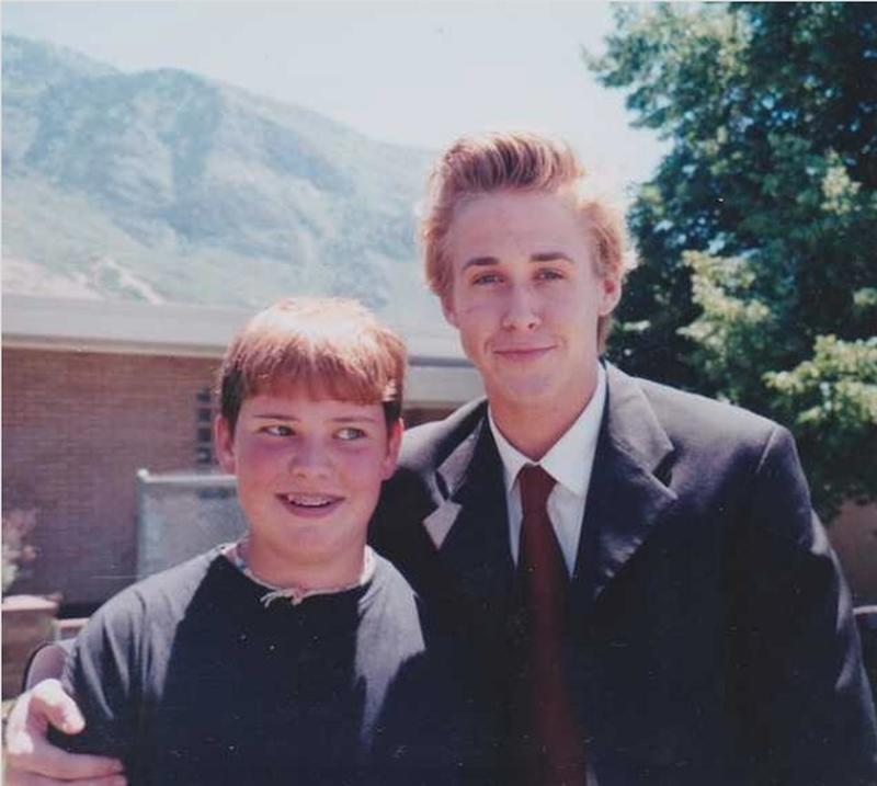 Young Ryan Gosling, Raised A Mormon