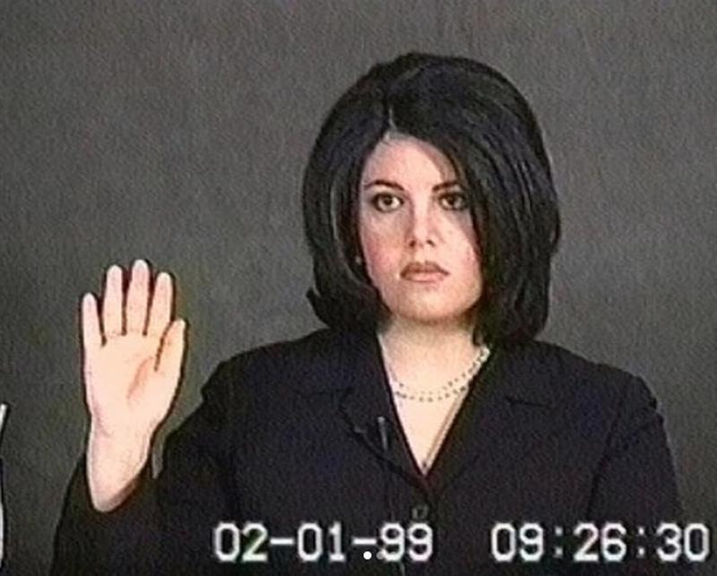Monica Lewinsky Bill Clinton Scandal