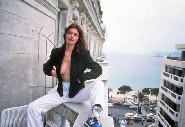 Susan Sarandon At The 1987 Cannes Film Festival