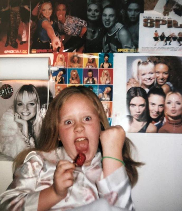 Adele With Her Spice Girls Posters