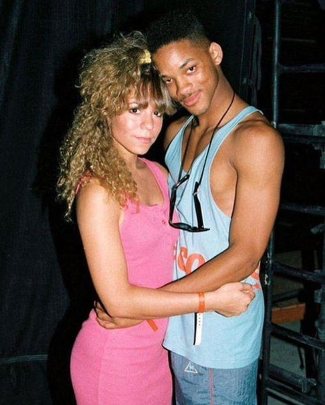 Mariah Carey And Will Smith