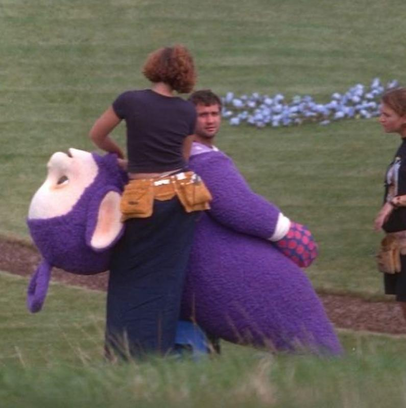 Teletubbies Behind The Scenes