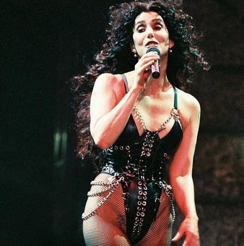 Cher Performing In 1992