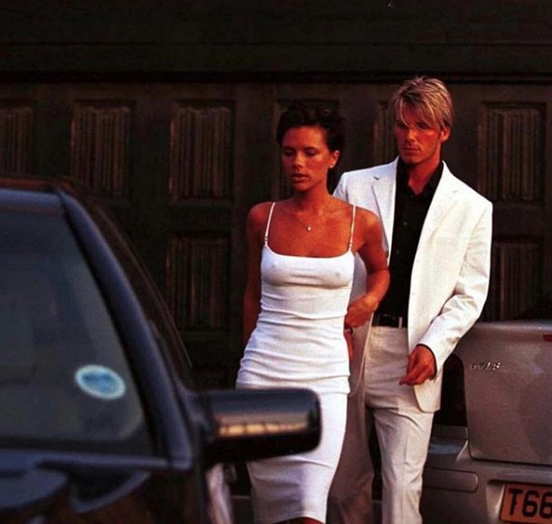 David And Victoria Beckham, 1997