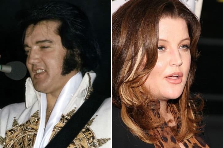 Elvis Presley & Lisa Presley At Age 42
