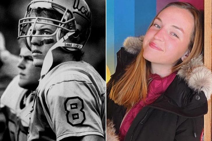 Troy Aikman & Jordan Ashley Aikman At Age 18