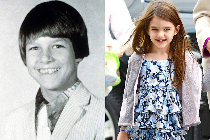 Tom Cruise & Suri Cruise At Age 6
