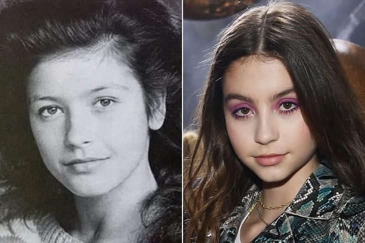 Catherine Zeta Jones & Carys Zeta Douglas At Age 16