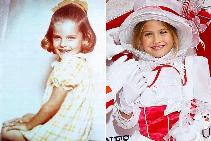 Anna Nicole Smith & Dannielynn Birkhead At Age 8
