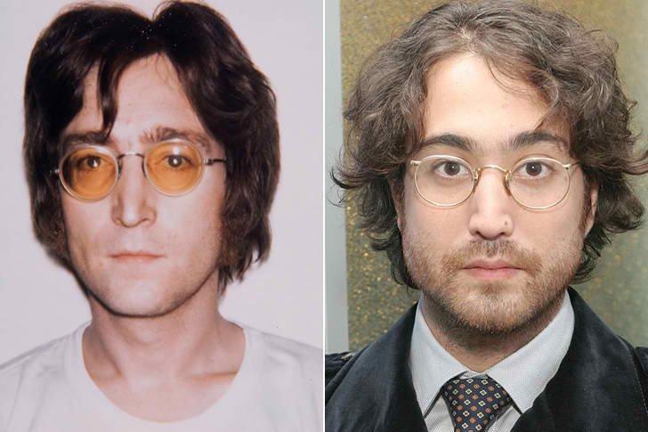 John Lennon & Sean Lennon At Age 31