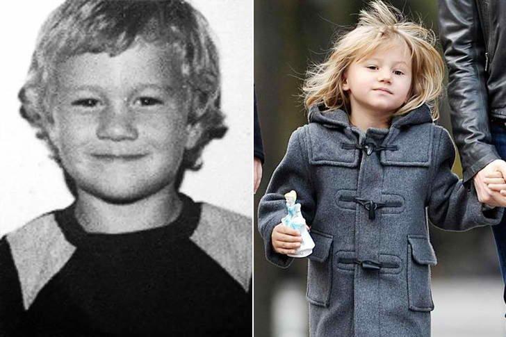 Heath Ledger & Matilda Ledger At Age 9
