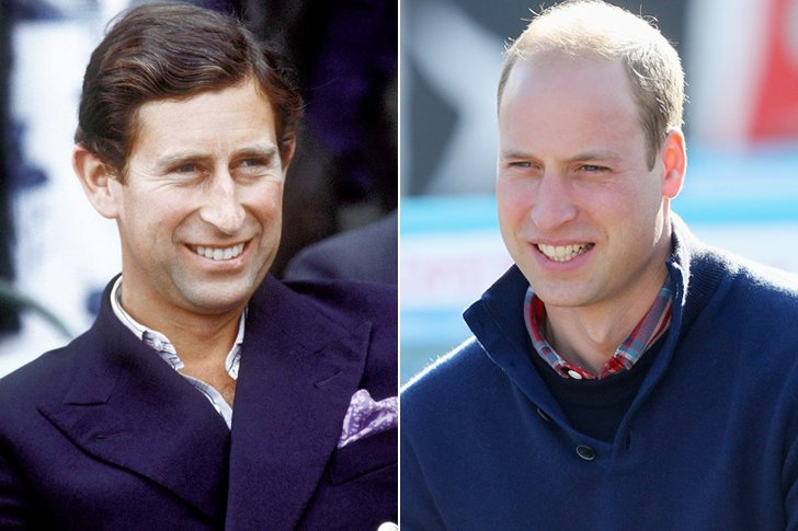 Prince Charles & Prince William At Age 33