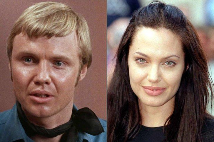 Jon Voight & Angelina Jolie At Age 31