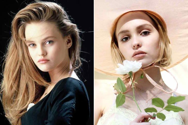 Vanessa Paradis & Lily Rose Melody Depp At Age 18