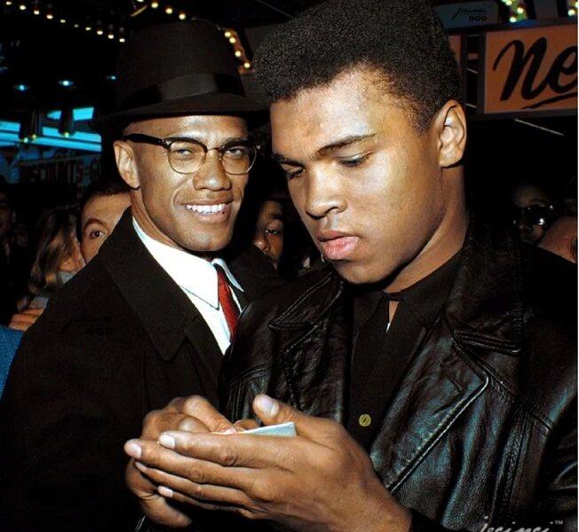 Malcolm X Meeting Muhammad Ali